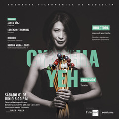 """CADENZA"" for orchestra, Colombian premiere"