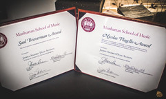 Nicolas Flagello Award and Saul Braverman Award
