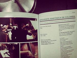 """Premiere """"Eclosión"""" for Orchestra"""