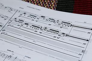 """INFRASTRUCURES"" for string quartet: Second place, Manhattan Prize"