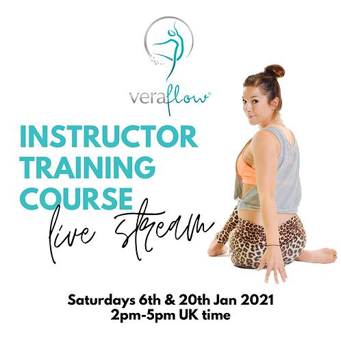 LiveStream Training 2 x 1/2 days: Saturdays 6th and 20th Feb 2021