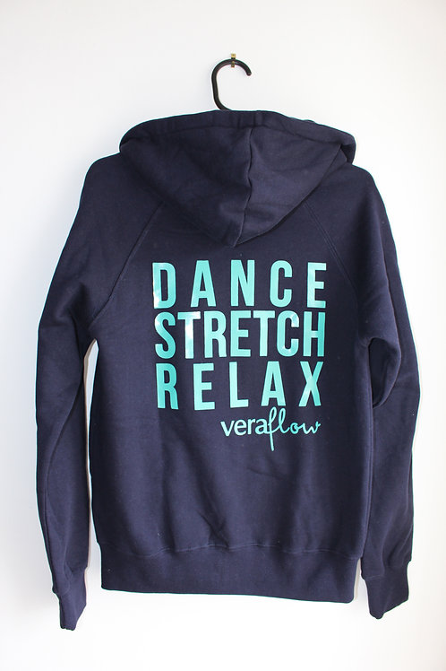 Dance Stretch Relax Zip-up Hoody