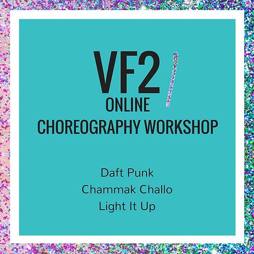 VeraFlow Choreography Workshops - VF2 -1, 2, 3 and 4