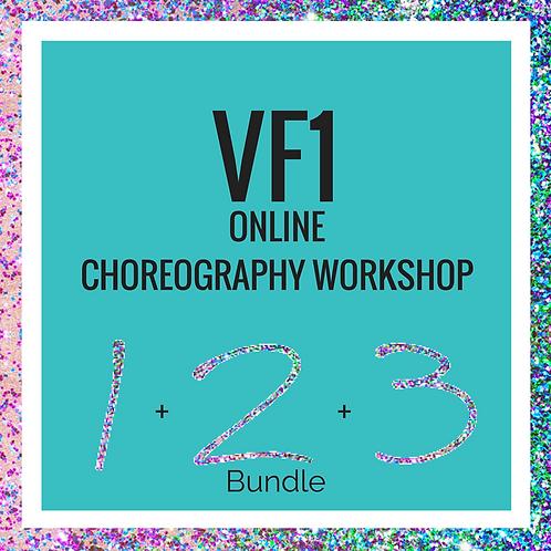VeraFlow Choreography Workshop - VF1 -1, 2 and 3