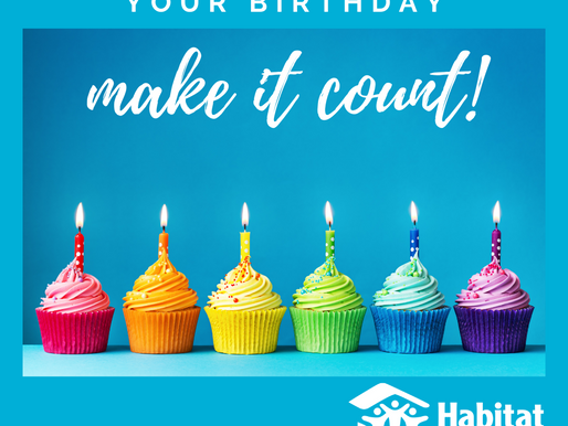 Make Your Birthday Count!
