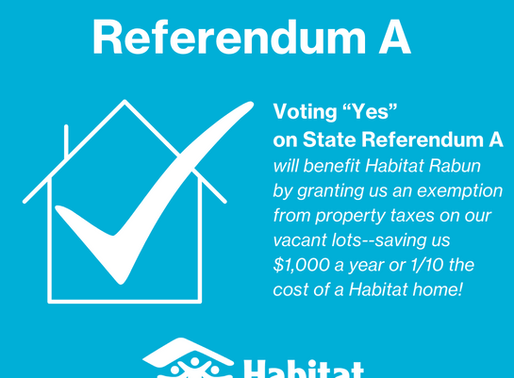 "Vote ""Yes"" on State Referendum A"