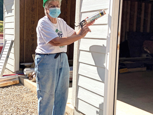 Sandy Hunter: Habitat's Caulking Queen and Trailer Czar!