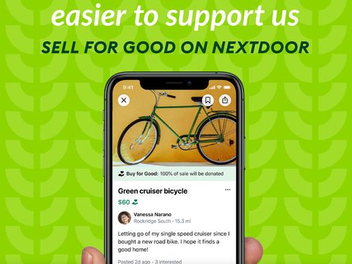 Sell for Good on NextDoor