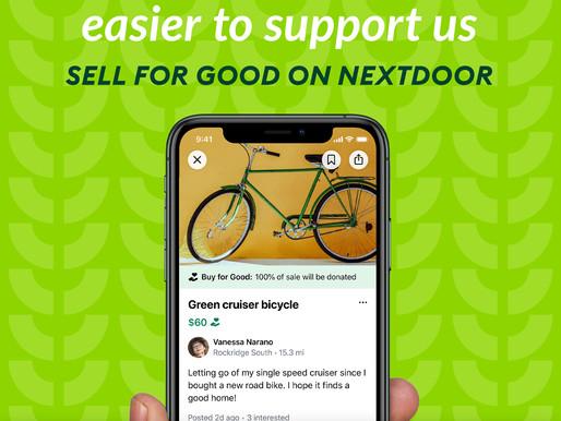 Sell for Good on NextDoor