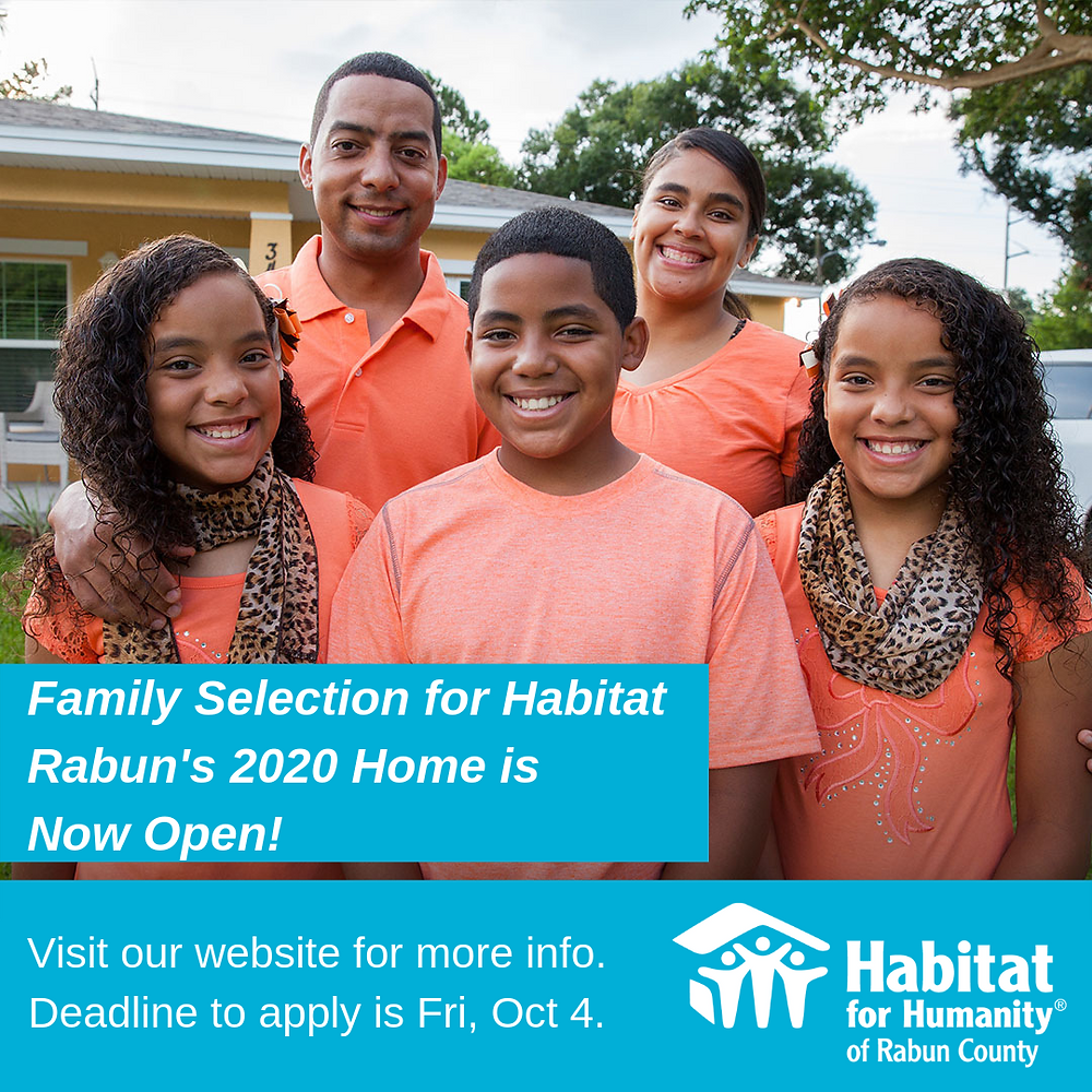 Habitat Rabun Family Selection 2020