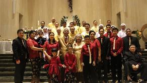 Misa Syukur HUT Pernikahan Orang Tua RD Didit