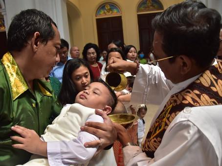 Sakramen Baptis Bayi