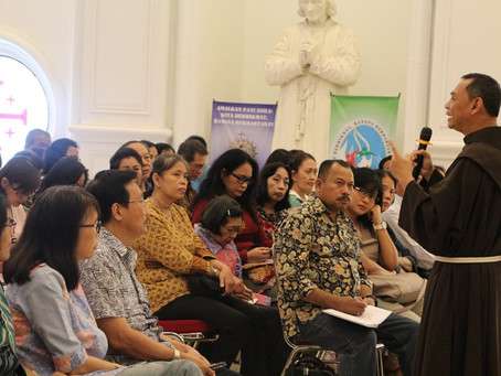 Seminar Penglihatan St. Faustina Tentang Dunia Lain