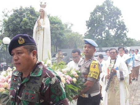 Perayaan Ekaristi Paskah bersama Umat TNI-Polri