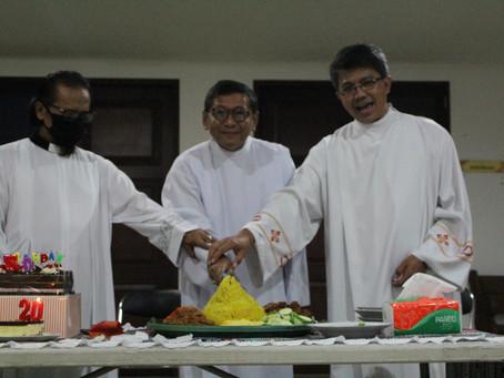 Perayaan HUT Paroki, HUT Imamat, dan HUT RD Didit