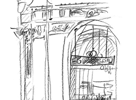 from Prague Sketchbook