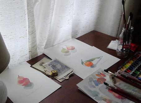 水彩画に必要な画材について
