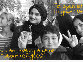 Why I'm Creating a Game About Refugees
