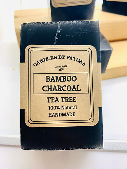Bamboo Charcoal and Tea Tree Soap