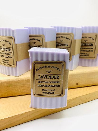 European Lavender Soap with Croatian Essential Oil.