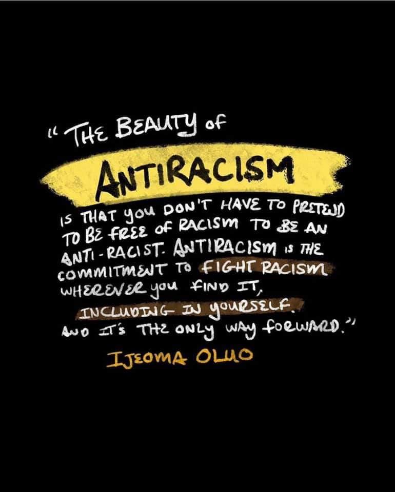 Ijeoma Oluo Quote on Anti-Racism