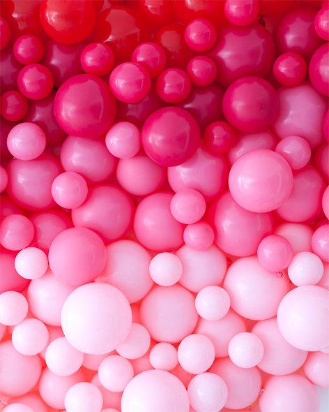 Valentines Balloon Walls