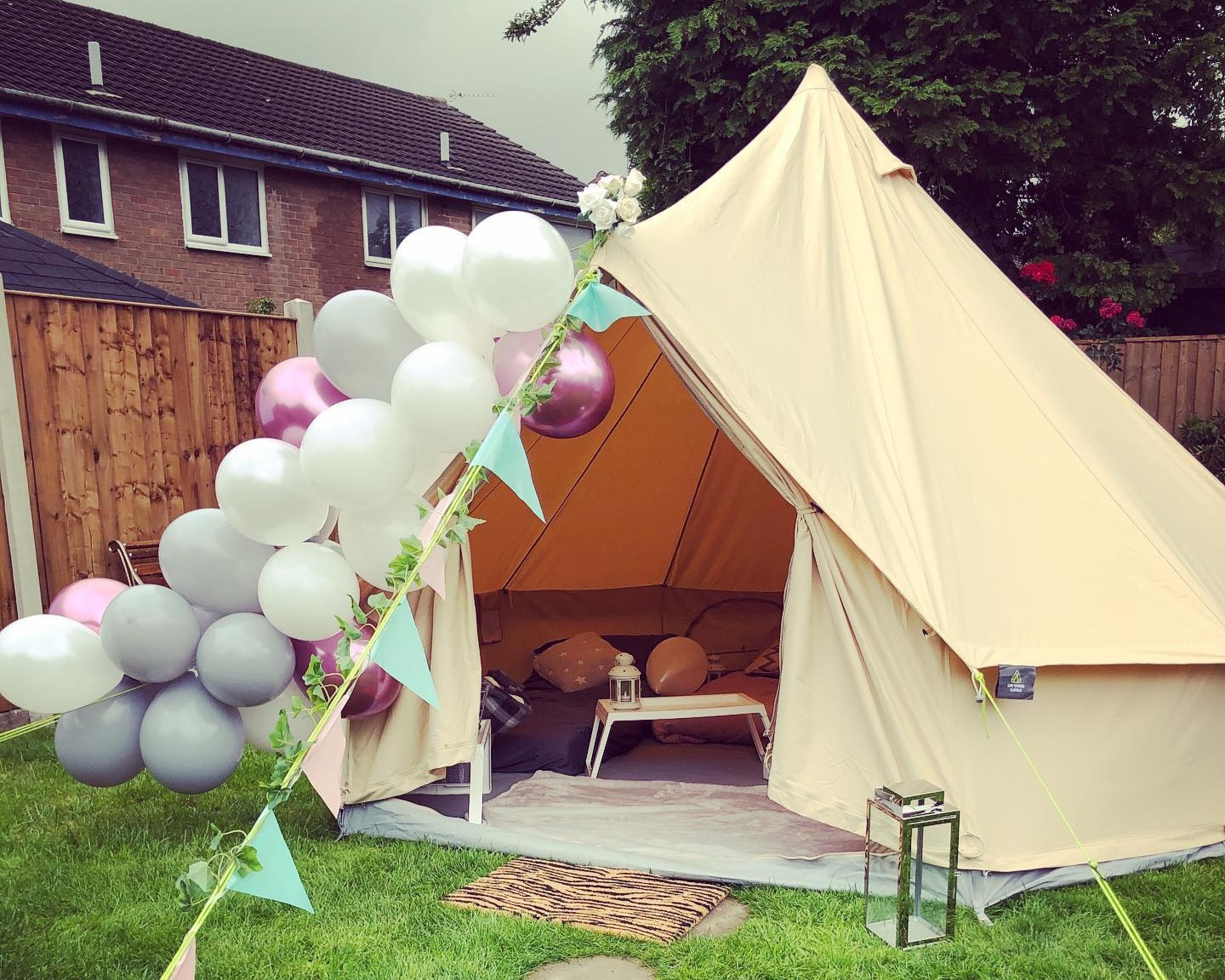 Bell tents worsley