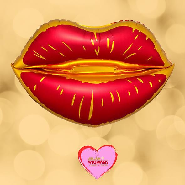 Kiss Me Super Foil Balloon