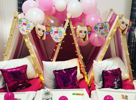 New Barbie Themed Sleepover!