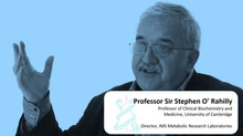 New Speaker Announced: Professor Sir Stephen O'Rahilly