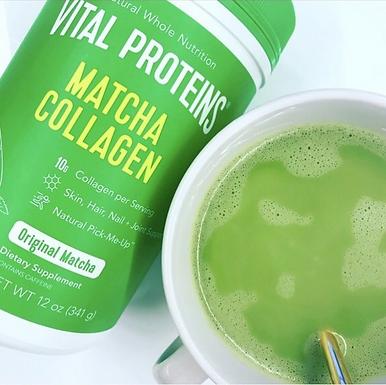 Matcha Collagen Powder
