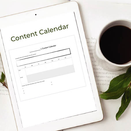Why You'll Save Time With A Content Calendar