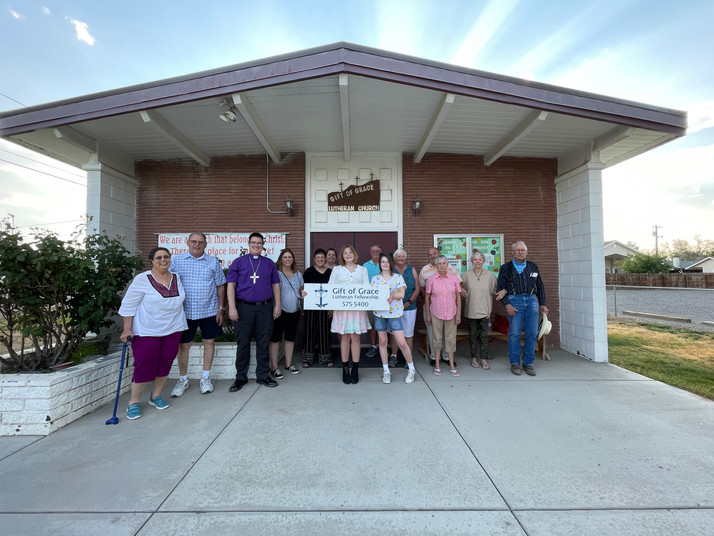 Gift of Grace Lutheran Church in Fernley, NV