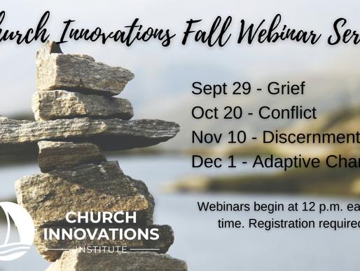 Church Innovations Fall 2021 Webinar Series