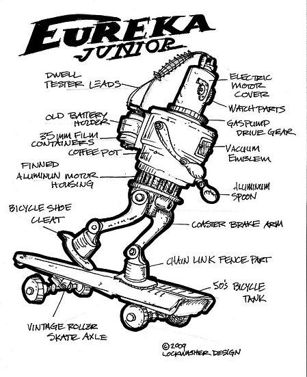 Skateboard Robot