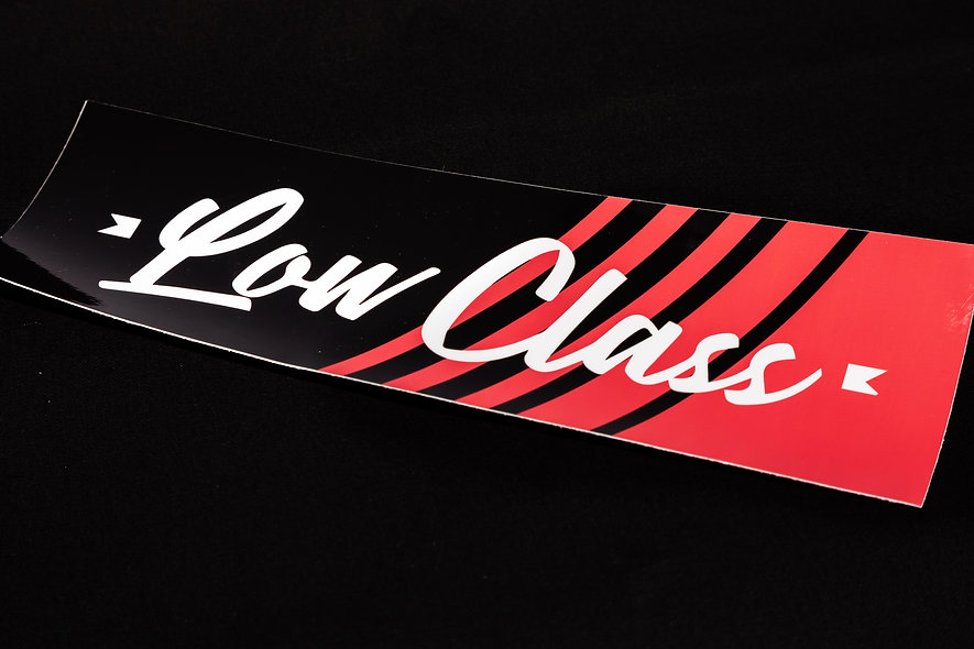 LowClass Red Slash Slap
