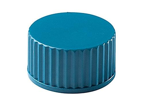 Tapas a rosca azul para tubo de 10mL