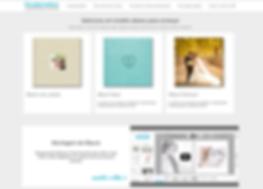 E-commerce para venda de álbuns encadernados