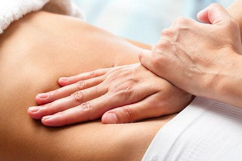 Massage bien-être du ventre 25 min
