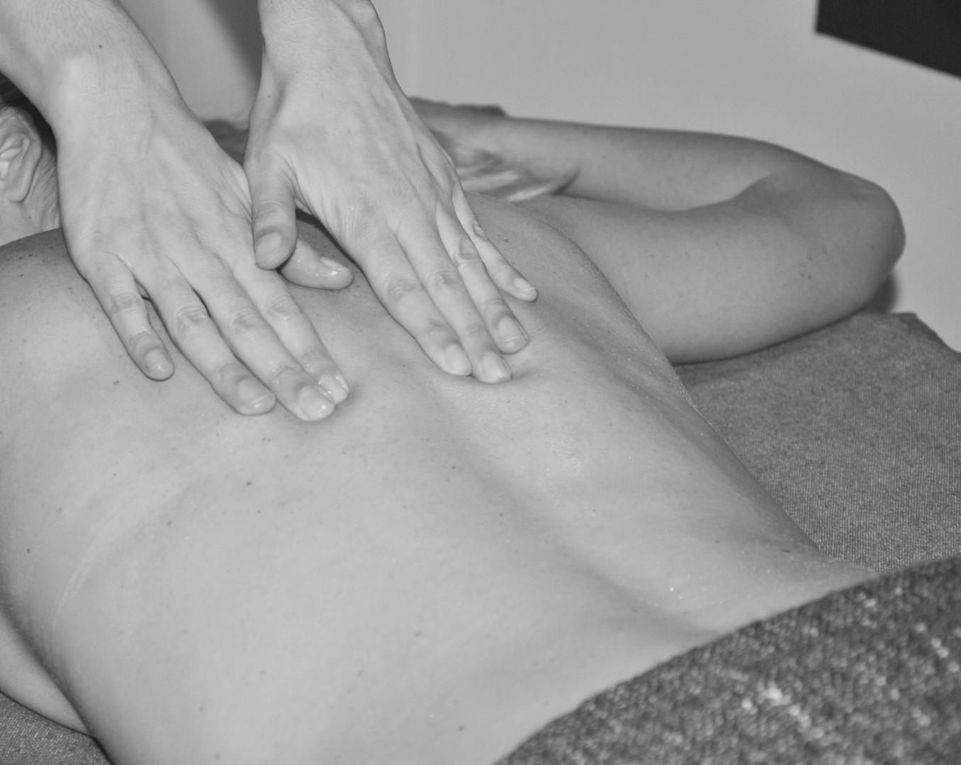 massage de bien être