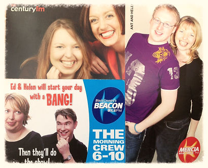 Helen Knott female radio presenter funny engaging host talk breakfast show
