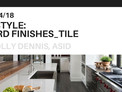 In Style: Hard Finishes - Tile