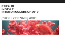In Style: Interior Colors of 2019