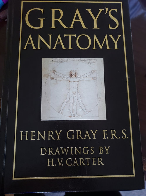 Gray's Anatomy 1995 Barnes and Noble Collectible Edition