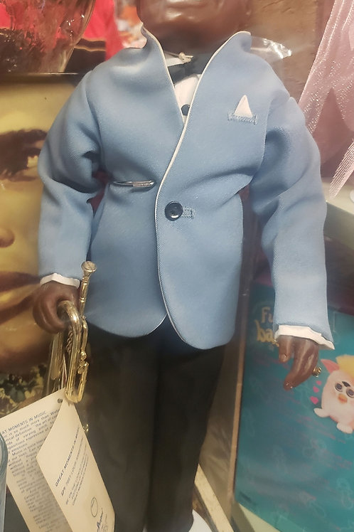 "Louis ""Satchmo"" Armstrong Collectors Doll by Effanbee"