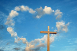 cross-and-sky