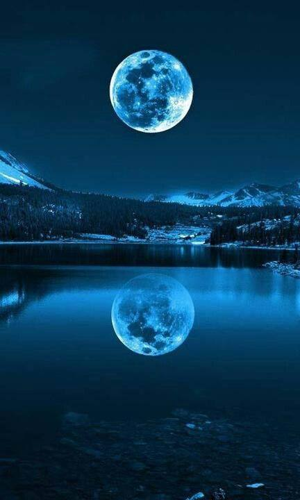 moon over Palmer, Alaska