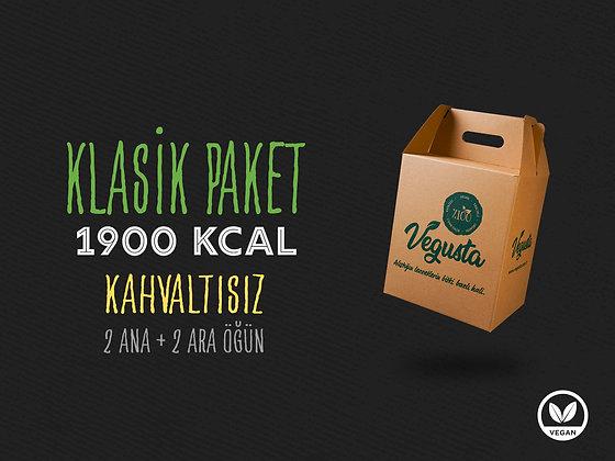 Kahvaltısız Klasik Paket 1900 Kcal