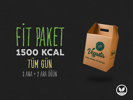 Kahvaltılı Fit Paket 1500 Kcal