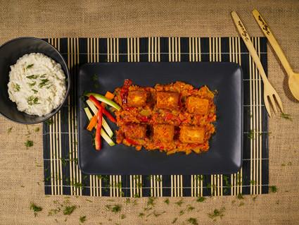 Vegan Sebzeli Kızartma Tofu
